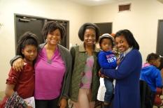 Nia and Erika; Teffey; Jayden and JJ